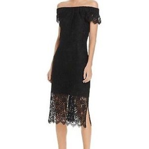 Nanette Lepore black lace Hampton court dress NWT